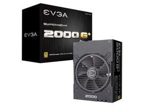 EVGA SuperNOVA 2000 G+ 2000W Computer Power Supply,80PLUS Gold Medal,Full Module,FDB Bearing Fan,Full Japanese Capacitor,Suitable For Working Under 220V,Desktop Host Power Supply