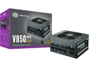 openbox Cooler Master V850 SFX Gold Full Modular, 850W, 80+ Gold Efficiency, ATX Bracket Included, Quiet FDB Fan, SFX Form Factor, 10 Year Warranty