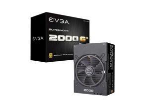 openbox EVGA SuperNOVA 2000 G+ 2000W Computer Power Supply,80PLUS Gold Medal,Full Module,FDB Bearing Fan,Full Japanese Capacitor,Suitable For Working Under 220V,Desktop Host Power Supply
