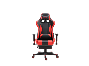 ViscoLogic SpeedX Ergonomic Gaming Chair with Footrest