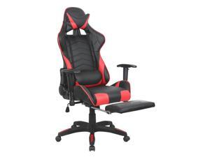 ViscoLogic VELOCE Gaming Chair with Footrest