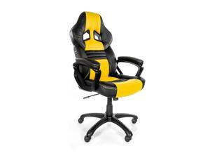 ViscoLogic YARIS Thick Padded Gaming Chair - Black/Yellow