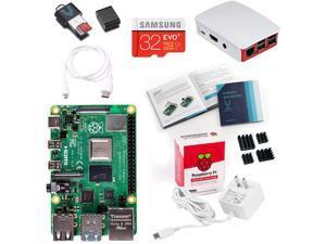 Vilros Raspberry Pi 4 Model B Complete Starter Kit with Official Red/White Raspberry Pi Case (8GB RAM)