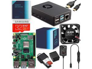Vilros Raspberry Pi 4 Complete Starter Kit with Fan-Cooled Heavy-Duty Aluminum Alloy Case (8GB)