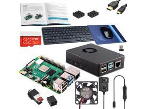 "Vilros Raspberry Pi 4 Desktop Kit with 11"" Keyboard-Sleek Mouse and Mousepad (8GB RAM)"