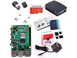 Vilros Raspberry Pi 4 Model B Complete Starter Kit with Official Black/Grey Raspberry Pi Case (8GB RAM)
