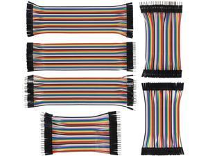 Breadboard Jumper Wire Set (240pc) 80 x M-F, 80x Male-Male, 80x Female-Female