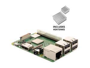 Vilros Raspberry Pi 3 Model B+ (B Plus) With set of 2 Aluminum Heatsink