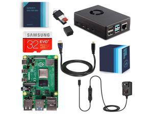 Vilros Raspberry Pi 4 Complete Starter Kit with Fan-Cooled Heavy-Duty Aluminum Alloy Case (2GB)
