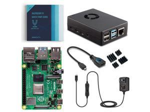 Vilros Raspberry Pi 4 Basic Starter Kit with Fan-Cooled Heavy-Duty Aluminum Alloy Case (4GB)
