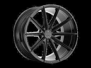 Blaque Diamond BD11 20x11 5x108 ET-10 Gloss Black Concave Wheels Rims
