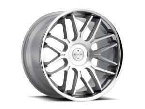 Blaque Diamond BD27 20x9 5x120 ET35 Silver/Chrome Lip Concave Wheels Rims