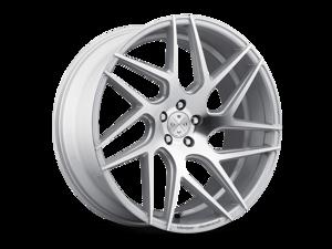 Blaque Diamond BD3 20x9 5x120 ET35 Silver Machined Concave Wheels Rims