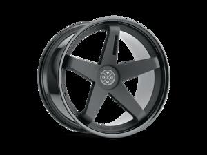 Blaque Diamond BD21 20x10.5 5x127 ET25 Matte Black/Gloss Black Concave Wheels Rims
