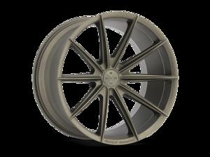 Blaque Diamond BD11 24x10 5x114.3 ET35 Matte Bronze Concave Wheels Rims
