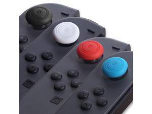 OSTENT Silicone Grip Thumb Stick Extender Button Cap Kit for Nintendo Switch Joy-Con Controller