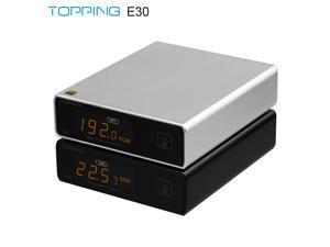 TOPPING E30 MINI HIFI USB DAC AK4493 AK4118 decoder XMOS XU208 32BIT / 768Khz DSD512