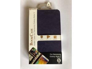 Aduro Book Case Wallet Samsung Galaxy Note 3 - Purple
