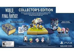 World of Final Fantasy: Collector's Edition [PlayStation 4]