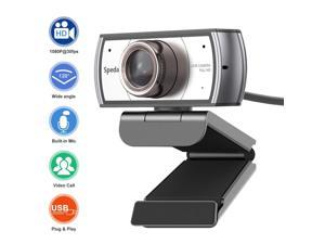 Webcam with Microphone,120 Degree Wide Angle Spedal 920 pro Network Video Conference Camera, USB Full HD 1080P Live Streaming WebCam for Mac, PC, Laptop, Desktop for Xbox Skype Facebook Twitch YouTube