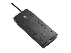 APC 10-Outlet Surge Protector Power Strip with USB Charging Ports, 4320 Joules, SurgeArrest Performance (P10U2)