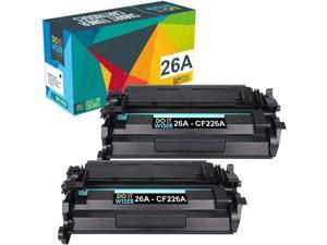 Compatible Toner Cartridge Replacement for HP 26A CF226A 26X CF226X Laserjet Pro M402n M402dn M426 M402d M402dw Laser Jet MFP M426fdw M426fdn M402 M426dw Printer Ink (Black, 2-Pack)