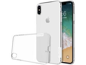 "Top Original Brand Designer Ultrathin Soft TPU Silicone Crystal Clear Cover Phone Case for Apple iPhone XS Max 6.5"" High Quality Flexible Grip Shell Simple Nature Slim Fit"