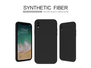 """Top Original Brand Designer Luxury Carbon Synthetic Fiber Back Cover Phone Case for Apple iPhone XR 6.1"""" High Quality Ultrathin Air Armor Shell Slim Shield Retro Vintage Business Style"""