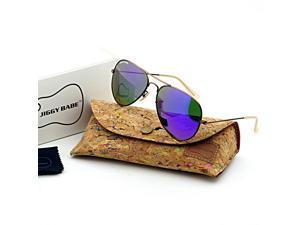 d06f1cba1f Top Brand Name Designer 3025 Aviator Sunglasses UV400 Retro Vintage Large  Metal Men Women