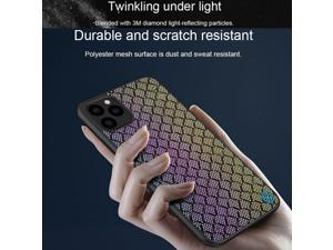 Top Original Brand Designer Luxury Frosted Hybrid Phone Case for Apple iPhone 11 Pro 5.8inch Fashion Back Cover Air Armor Shell Gradient Light Reflect Shield Back Cover High Quality Novatly Bumper