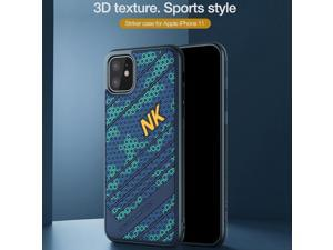 Top Original Brand Designer Frosted Sports Hybrid 3D honeycomb Texture Phone Case for Apple iPhone 11 6.1inch Novatly Air Armor Shell Shield Shockproof Fashion Grip Back Cover High Quality