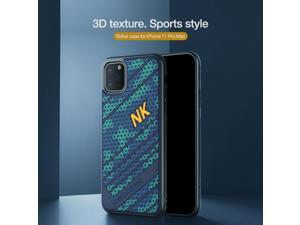 Top Original Brand Designer Frosted Sports Hybrid 3D honeycomb Texture Phone Case for Apple iPhone 11 Pro Max 6.5inch Air Armor Shell Back Cover Shield Fashion Grip High Quality Novatly Bumper