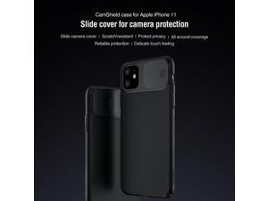 Top Original Brand Designer Ultrathin Sports Frosted Hard Phone Case for Apple iPhone 11 6.1inch Air Armor Shell Shield with Slide Back Cover for Camera High Quality Slim Matte Shockproof Grip