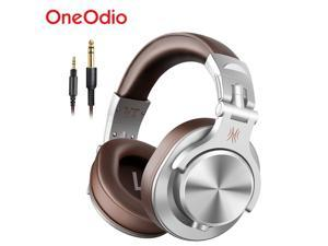Oneodio A71 Stereo Wired Over Ear Headphone With Mic Studio DJ Headphones Professional Monitor Recording &Mixing Headset