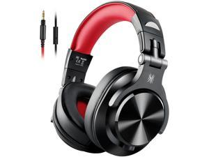 OneOdio Wired Over Ear Headphones, Studio DJ Headphones with Share-Port, Professional Adapter-Free Monitor Recording & Mixing Headphones with Stereo Sound for Electric Drum Piano Guitar Amp