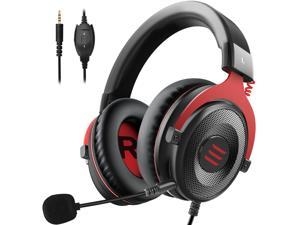 EKSA E900 Stereo Gaming Headset Gamer For Phone PS4 Xbox PC 3.5mm Wired Gaming Headphones With Noise Cancelling Microphone
