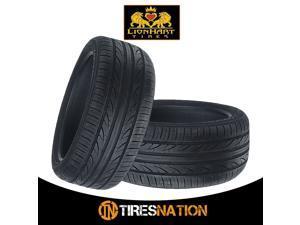 (2) New Lionhart LH-503 235/45R19 99W Ultra High Performance All-Season Tires