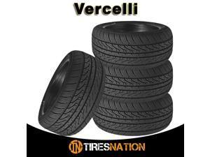 4 New Vercelli Strada II Strada-2 215/45R17 91W XL All Season Performance Tire