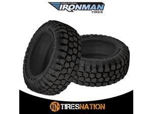 (2) New Ironman All Country M/T 31/10.5/15 109Q Mud Terrain Tire