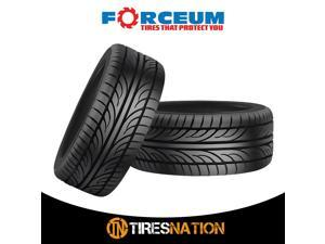 (2) New Forceum HENA 225/50R16 96W All Season Performance Tires