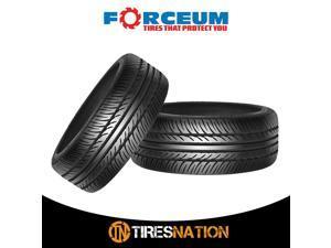 (2) New Forceum D850 195/45R15 78V Ultra High Performance Tires