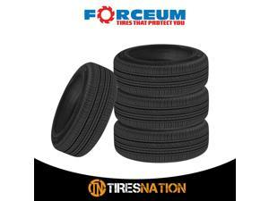 (4) New Forceum Ecosa 195/70R14 91H Tires
