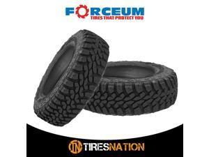 (2) New Forceum MT08+ LT235/75R15 104/101Q C Load 6 Ply All Terrain Mud Tires