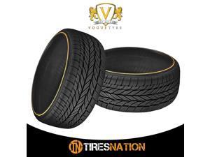 (2) New Vogue Custom Blt Rad VIII 235/50R18 101V Tires