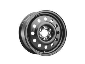 (1) Pacer 60683B FWD BLACK MOD 13X5.5 4X100 72.00 Hub +35 Offset Black Wheel Rim