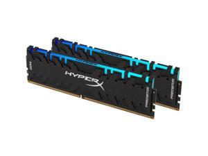 HyperX Predator RGB 16GB (2 x 8GB) 288-Pin DDR4 SDRAM DDR4 3200 (PC4 25600) Desktop Memory Model HX432C16PB3AK2/16