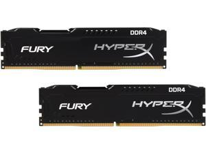 HyperX FURY 8GB (2 x 4GB) 288-Pin DDR4 SDRAM DDR4 2666 (PC4 21300) Intel X99 Desktop Memory Model HX426C15FBK2/8
