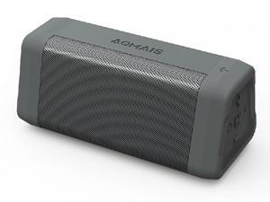 AOMAIS REAL SOUND Portable Bluetooth Speakers Loud Bass in Dual Stereo Pairing 20 Hours Playtime, Bluetooth 4.2, 100ft Range, IPX4 Waterproof, Durable Wireless Speaker for Home, Outdoor, Travel