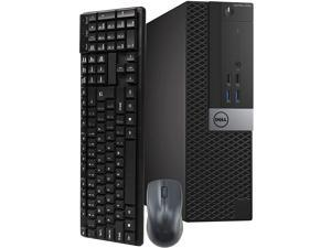 Dell OptiPlex Small Form Desktop Computer, Intel Core i5 6500, 3.2GHz Processor, 16GB Ram, 500GB Solid State Drive, BTO Wireless Keyboard & Mouse, Wi-Fi | Bluetooth, HDMI, Win 10 Pro (Renewed)