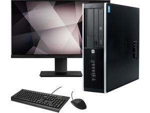 "HP Small Form Computer Desktop PC, Intel Core i5 3.10 GHz, 16GB Ram, 120GB SSD, 1TB Hard Drive, BTO Wifi | Bluetooth, HDMI, New 19"" Monitor, AMD Radeon RX 550 Phoenix 2GB GDDR5, Windows 10 (Renewed)"